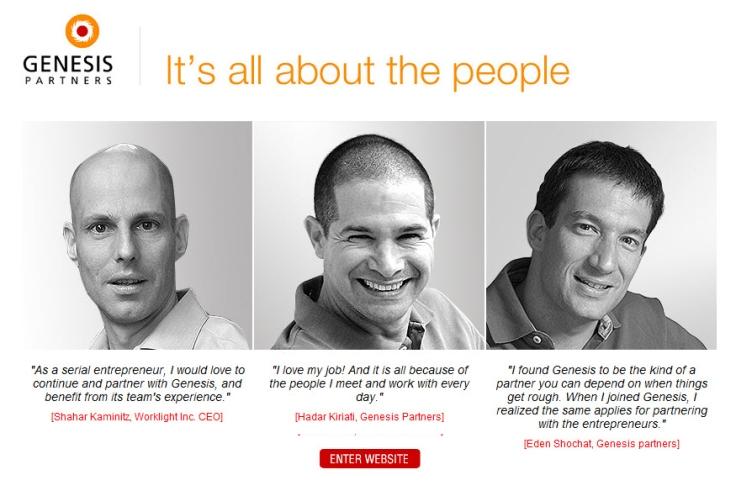 Genesis Partners Homepage